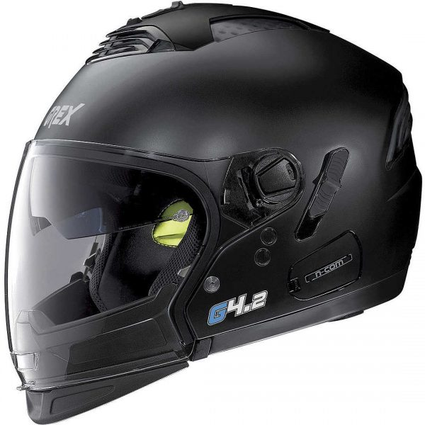 Casco G4.2pro Kinetic N-Com nero opaco Grex