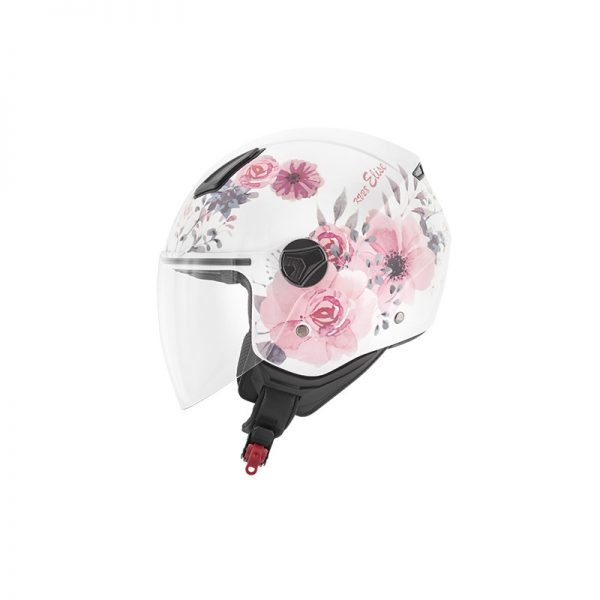 CASCO D-JET KV28 MIAMI ELISE LADY KAPPA GRAFICA ROSE