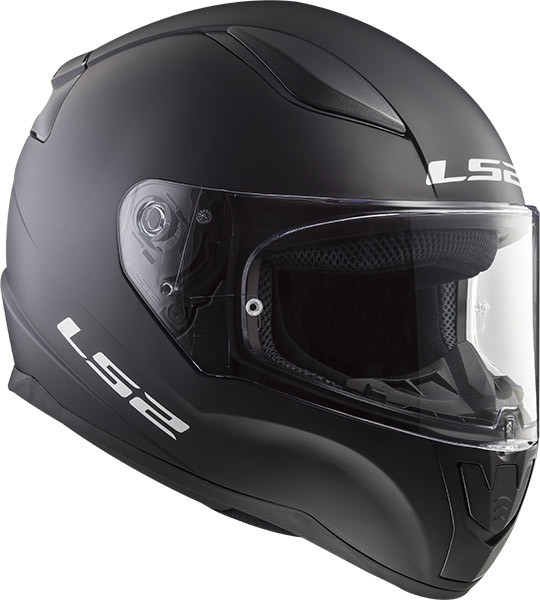 Casco integrale LS2 FF353 RAPID SINGLE MONO Nero opaco