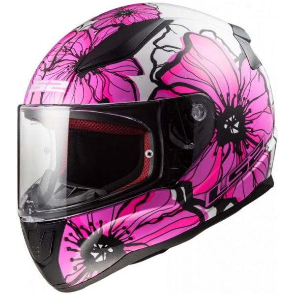 Casco Integrale LS2 FF353 RAPID POPPIES Rosa