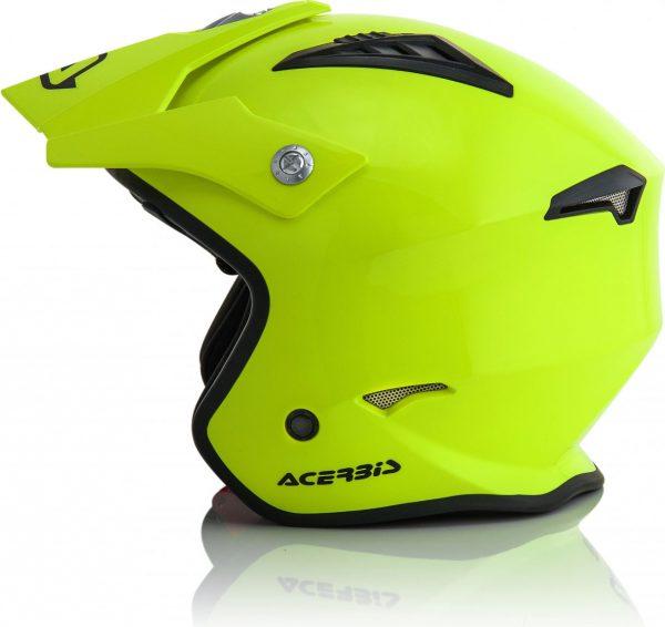 Casco jet ACERBIS mod. Aria Giallo fluo