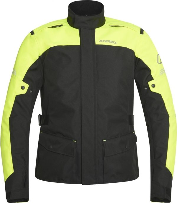 Giacca Acerbis Discovery Forest Nero Giallo Fluo Uomo
