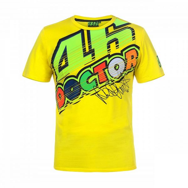 T-Shirt VR46 THE DOCTOR Yellow