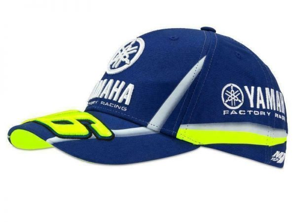 CAPPELLINO  BERRETTO Yamaha Dual VR 46 Official Racing MotoGp  BLU tg. Unica