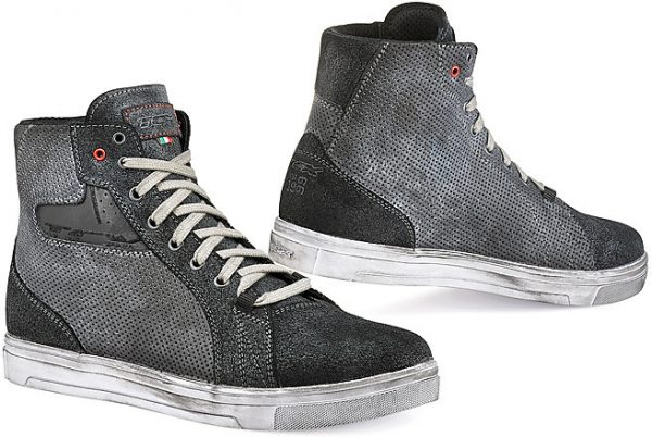 Scarpe Moto Lifestyle TCX Street Ace Air Antracite TRAFORATE ESTIVE