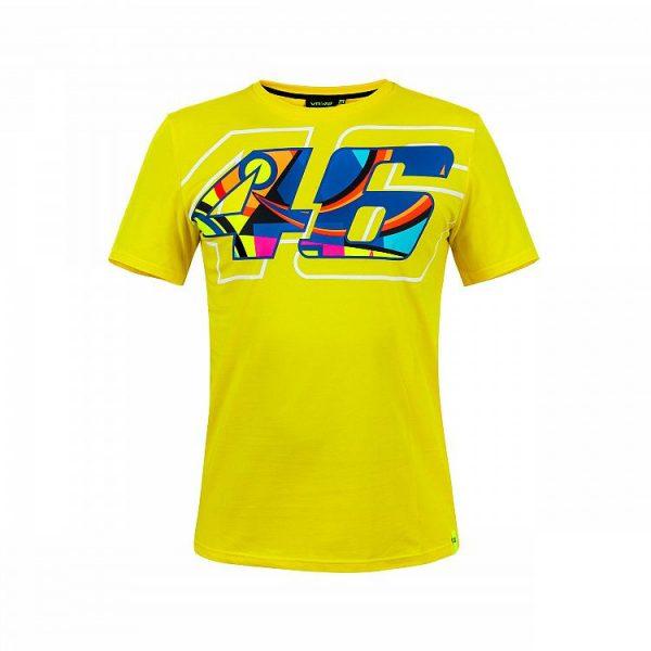 T-Shirt VR46 46 HELMET Giallo