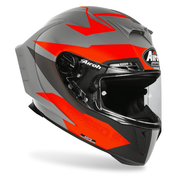 CASCO Airoh GP 550 S VECTOR ORANGE MATT