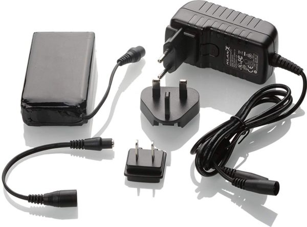 KIT BATTERIA+CARICA K-KIT-BAT-12V-6A ACCESSORI KLAN