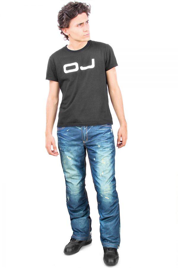 Pantalone Tecnico Oj Freestyle Con Protezioni Blue tg. L
