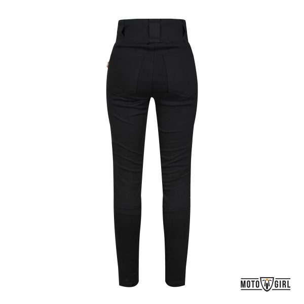 TUCANO PANTALONI MOTOGIRL – RIBBED LEGGINGS NERO